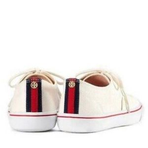 NWOB Tory Burch Canvas Murray Sneaker Size 7.5